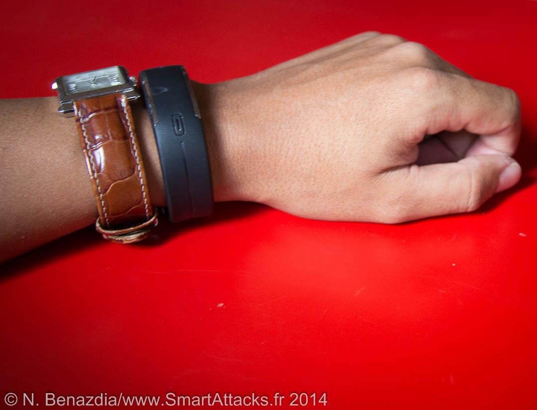 La bracelet Loop de Polar comparé à une petite montre