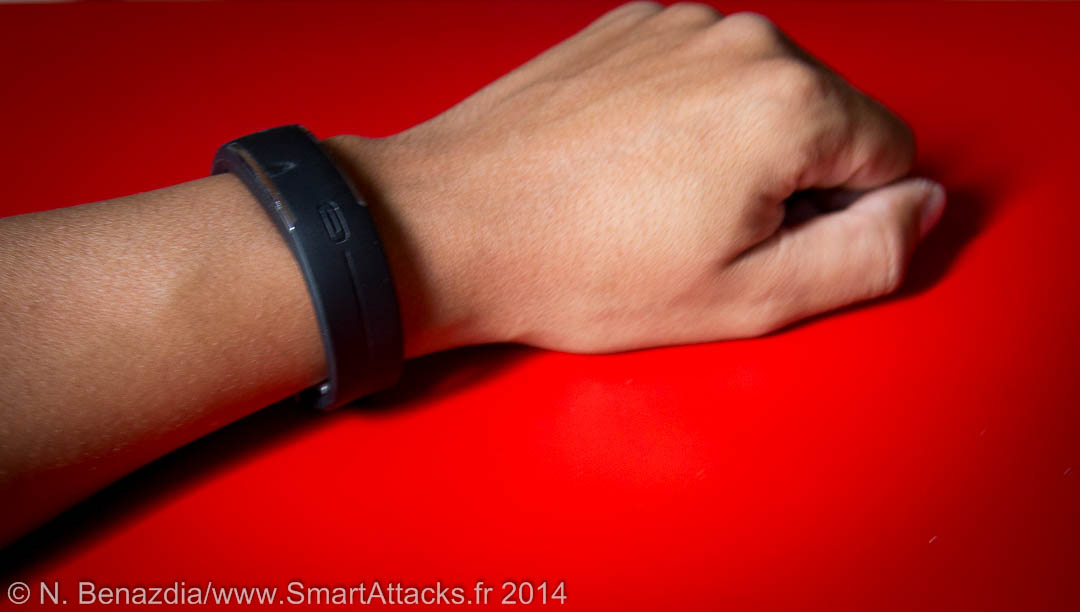 Bracelet Loop de Polar sur un poignet
