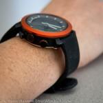 La montre Cogito est assez épaisse