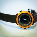 Esthétisme et simplicité pour cette smartwatch qui dispose d'une autonomie record de 6 mois.