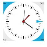 Pour régler l'heure et l'alarme, cela se passe directement depuis l'application