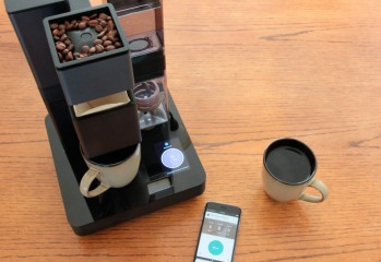 Bruvelo la machine à cafe intelligente