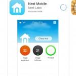 L'pplication Nest est disponible pour iOS sur l'App Store d'Apple et pour Android sur Google Play.