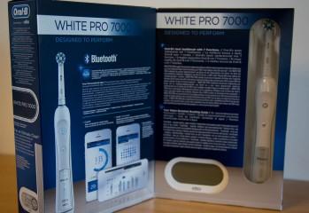 test Oral-B white pro 7000