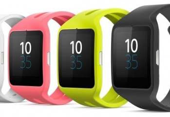 Sony Smartwatch 3 coloris