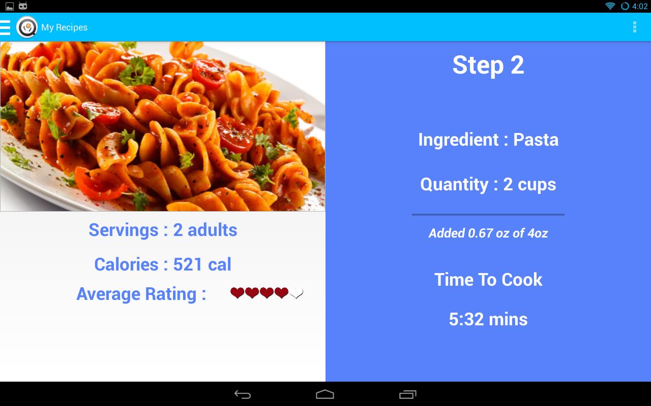 L'application vérifie que vous suivez bien la recette en se connectant avec la smartypans