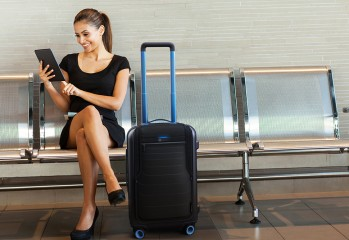 valise bluesmart smart intelligente