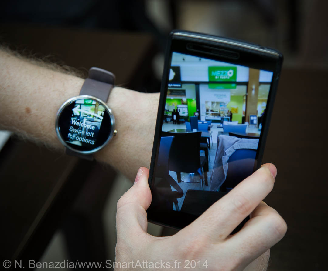 Motorola Moto 360 ecran cadran