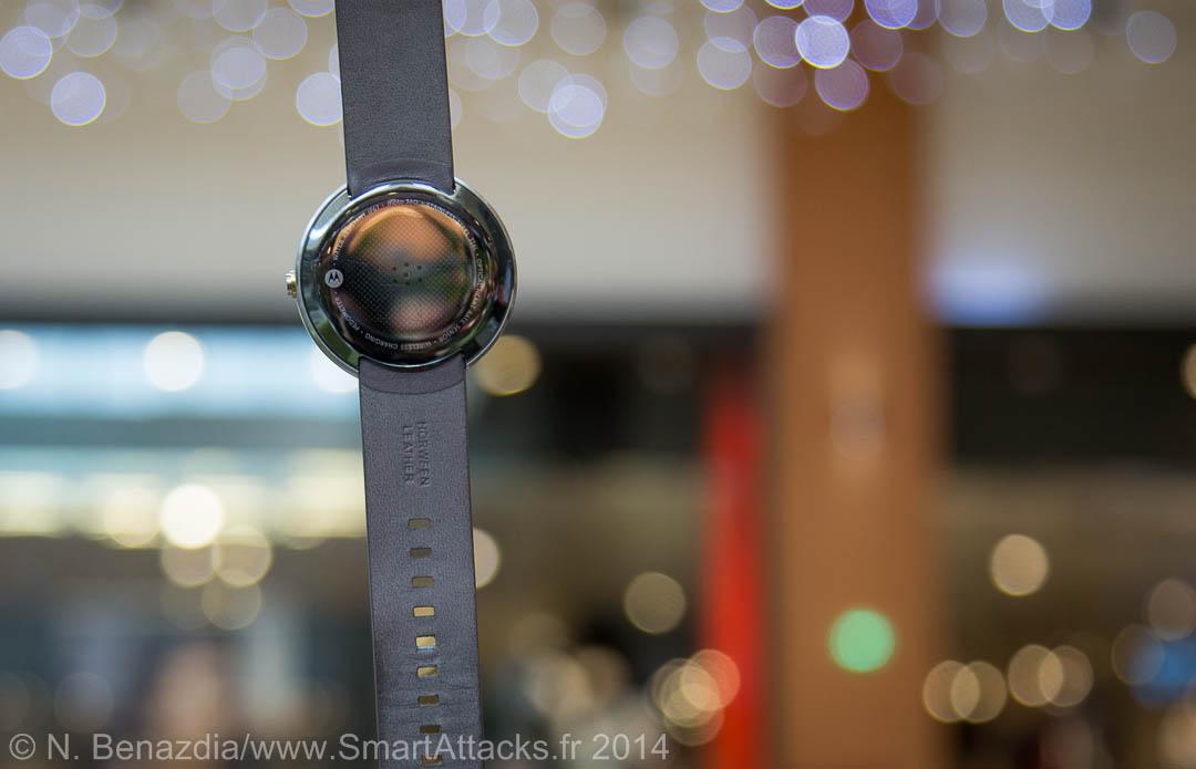 Test Motorola Moto 360 cardiofréquencemètre