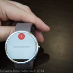Interface smartwatch Google OK