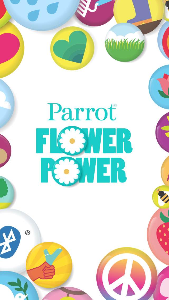 Application Flower Power de Parrot