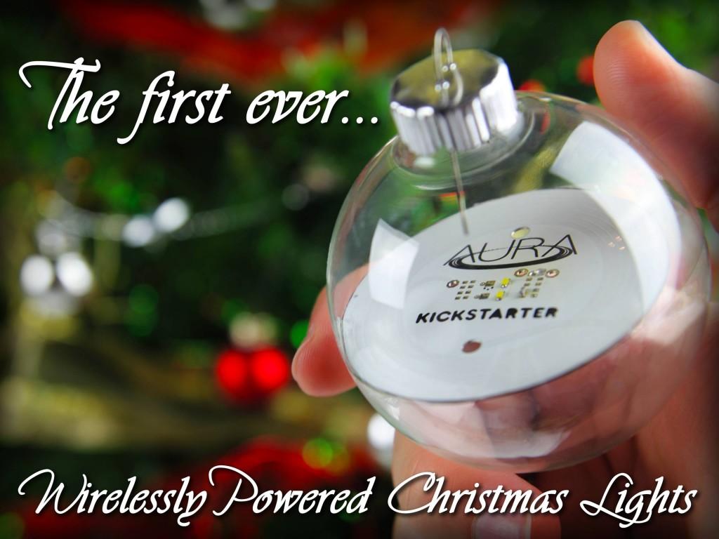 Aura, la première boule de Noël connectée