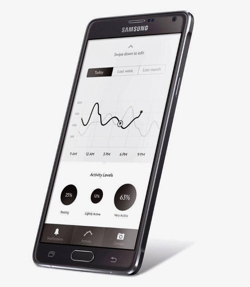 Montblanc e-strap app