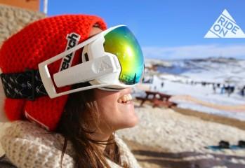 RideOn Masque de ski connecté