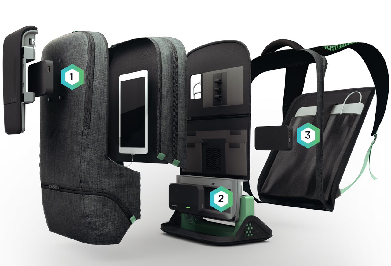 ampl smartbag interieur