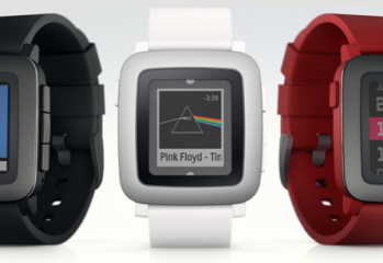 pebble time montre couleurs