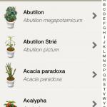 La base de données des plantes