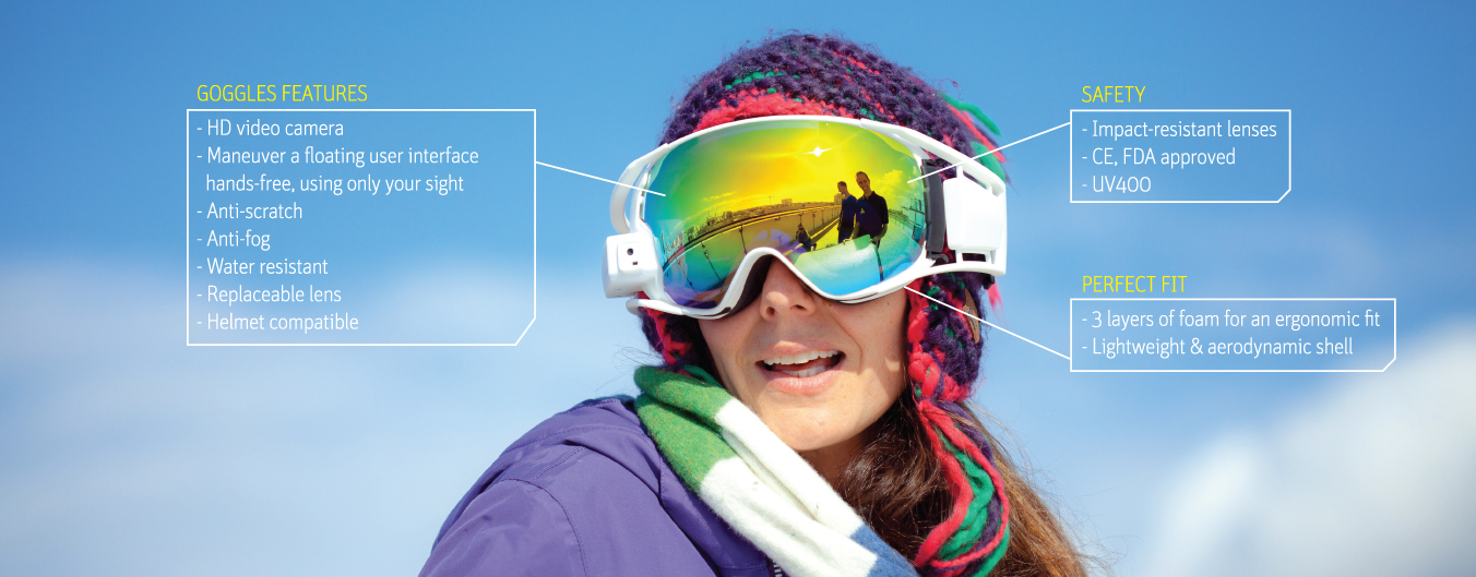 rideon masque de ski